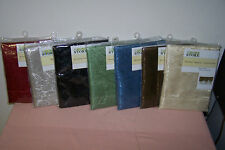 "Window Valance Assortment 60"" x 19"" New in Pack You Choose Color (4 Choices) NIP"