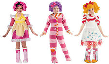 Lalaloopsy Toddler 3T-4T Girl Costume Halloween Dress Up Kid Child Sugar Cookie