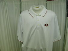 Official NFL San Francisco 49ers Coach/Staff Issued Reebok Polo Shirt Size- 2XL