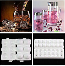 Whiskey Ice Cube Ball Maker Mold Mould Sphere Mould Brick Party Tray Round Bar