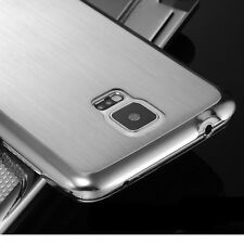 Luxury Brushed Aluminum Metal Hard Back Case Cover For Samsung Galaxy S5/S5 Neo