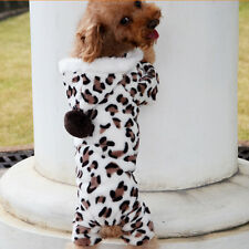 Puppy Dog&Cat Coat Pet Apparel Jacket Hoodie Puppy Clothes Jumpsuit Costume UK38