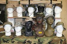 MILITARY ISSUE CAPS * BOONIES * MARINE 8 POINT LIDS * NEW & USED MULTIPLE SIZES