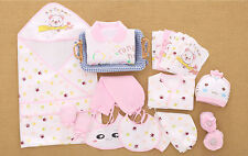 20pcs/Lot Cotton Newborn Baby Winter Grils clothes Sets toddler girl outfits