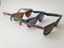 New Ray-Ban Urban Camo Wayfarer Sunglasses Green Blue Gray rb2140 Camouflage 50