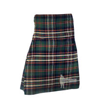 MENS SCOTTISH TARTAN DELUXE  8YD FULL KILT - HERITAGE IRELAND - RANGE OF SIZES!