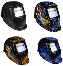 GX-550S Solar Auto Darkening Welding Grinding Helmet Mask Adjustable Shade  9-13