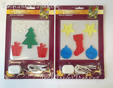 Christmas Light up Window Cling Gel Decoration XMas Window / Tree Decoration