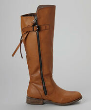 Modern Rush Talia Camel Riding Boots New 6 8 8.5 10