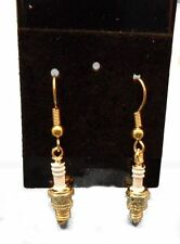 SPARK PLUG WIRE EARRINGS, CHARMS, OR PINS HYPO ALLERGENIC FIRST QUALITY