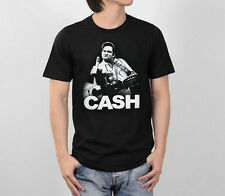 JOHNNY CASH F##K FINGER AMERICAN ROCK LEGEND RETRO VINTAGE GRAPHIC MEN T-SHIRT