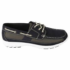 New! Thom McAn Mens Kamber Oxford Shoe-Style 20839-Navy (82D) kl