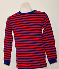 Gap Boys Long Sleeve Stripe T Shirt-Red & Blue-SIZES -5,6-7,8 & 10-12 YEARS NEW