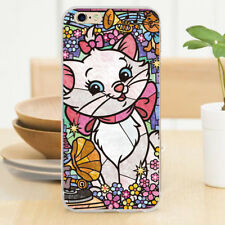 Stained Glass Marie Cat Hard Plastic Cover Case for iPhone 7 5 5S 5C 6/6 Plus 4s