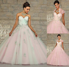 Popular Hot Sweetheart Ball Gown Quinceanera Dresses Custom Made All Size NEW