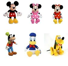 "Disney Clubhouse Plush 15""-17"" Your choice Mickey, Minnie, Donald, Pluto, Goofy"