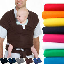 Infant Newborn Kid Baby Carrier Sling Swaddle Wrap Cotton Breastfeeding Rider