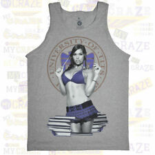 TWO IN THE SHIRT T.I.T.S. University of Tits Grey Tank Top