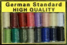 Sewing Machine Thread 1000y Spool Polyester Choice of Colours High Quality 140