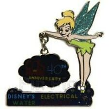 DISNEY PIN WDW 40th Anniversary Tinkerbell electrical Water Pageant Le 500