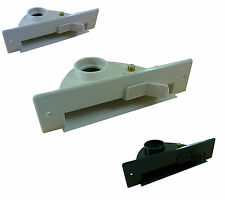 """Central Vac AUTOMATIC DUST PAN: VacPan Inlet White, Almond, Black """"Sweep Inlet"""""""