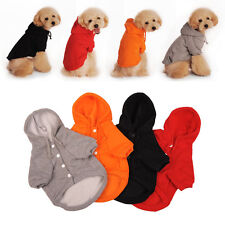 ES Pet Dog Cat Hoodie Puppy Clothes Sweater Jacket Coat Costumes Winter Warmer