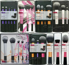 Real Techniques Core Collection Travel Essentials Make Up Brushes Kit Powder Set