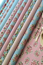 Vintage Floral Waterproof Fabric Kitchen Tablecloth PVC VINYL OILCLOTH, 1.3 x 2m