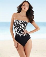 MIRACLESUIT AVANTI BANDEAU MIRACLE SWIM SUIT BATHING SWIMMING COSTUME CRUISE