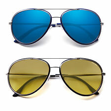 Police Retro Mens UV Fashion Glasses Aviator Driving Sunglasses Shades Eyewear