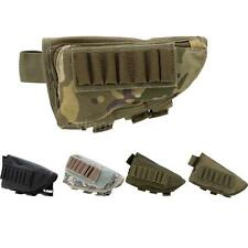 Outdoor Tactical Military Hunting Ammo Pouch Holder with Leather Pad B6D5