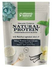 Organic Vanilla Natural Whey Protein Powder Shake Superfood Fueled Recovery 3kg