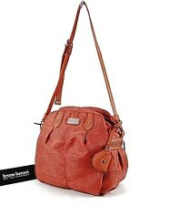Bruno Banani Womans Handbag Shoulder Bag Red Orange