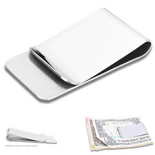 Slim High Quality Slim Money Clip Credit Cards Holder Wallet New Stainless Steel