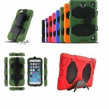 Tough Military HEAVY DUTY Builders Shock Proof Survival Case for all iPad iPhone