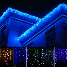 3.5Mx0.8M 96LED String Net Fairy Light Christmas Xmas Wedding Curtain Party Lamp