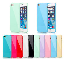Candy Soft Silicone Rubber Gel Case Cover Skin For Apple iPhone 5 5S 6 6S Plus