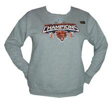 NFL CHICAGO BEARS WOMEN'S SWEATSHIRT GRAY 2006 NFC CONFERENCE CHAMPIONS