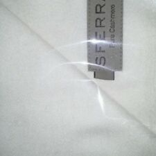 New Sferra Dorsey Cashmere Throw - Ice