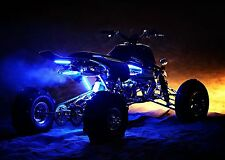 Yamaha Banshee LED grab bar / New grab bar with a  built in LED light