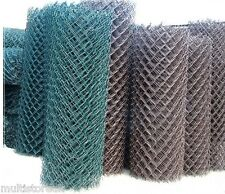 PVC Coated Galvanized Steel Mesh Fencing Wire Net Garden Fence Animals Border