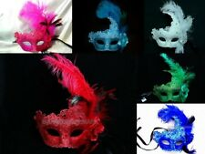 Masquerade Ball Mask Halloween Costume Mardi Gras Birthday Graduation Prom Party