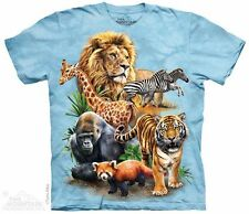 Zoo Collage T-Shirt from The Mountain - Adult & Child