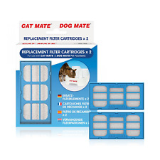REPLACEMENT FILTER CARTRIDGES CAT MATE PART 339 PET DOG FILTERED WATER FOUNTAIN