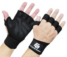Fit Active Sports Weight Lifting Gloves For Workout Gym Cross Training