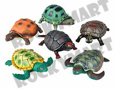 """4.5"""" STRETCH TURTLE -Rubber and Plastic- RM3187"""