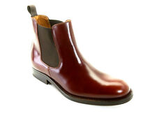 John White Chelsea Sport Brown Pull  Leather Mens Boots