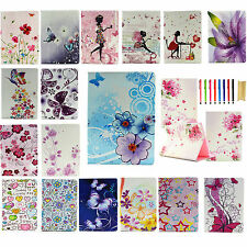 """Flower Pattern Folio Leather Smart Stand Case Cover For iPad Pro 12.9""""/ Pro 9.7"""""""