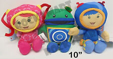 """SMALL 10"""" Officially Licensed Team Umizoomi PLUSH Geo Milli or Bot RM3194"""