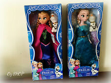 "12"" Frozen ELSA and ANNA Doll Figure Toys Gift Set Collection"